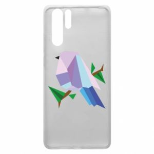 Etui na Huawei P30 Pro Bird on a branch abstraction