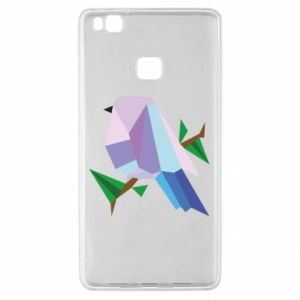 Etui na Huawei P9 Lite Bird on a branch abstraction