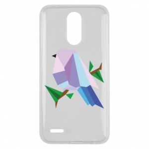 Etui na Lg K10 2017 Bird on a branch abstraction