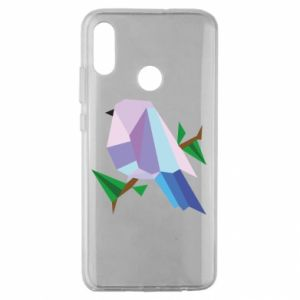 Etui na Huawei Honor 10 Lite Bird on a branch abstraction