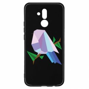 Etui na Huawei Mate 20 Lite Bird on a branch abstraction