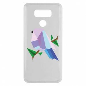 Etui na LG G6 Bird on a branch abstraction