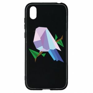 Etui na Huawei Y5 2019 Bird on a branch abstraction