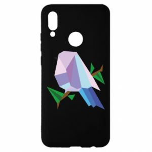 Etui na Huawei P Smart 2019 Bird on a branch abstraction