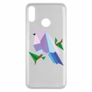 Etui na Huawei Y9 2019 Bird on a branch abstraction