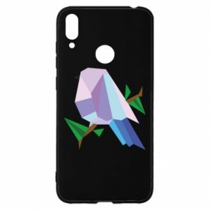 Etui na Huawei Y7 2019 Bird on a branch abstraction