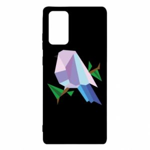 Etui na Samsung Note 20 Bird on a branch abstraction