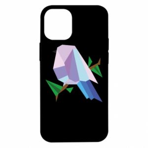 Etui na iPhone 12 Mini Bird on a branch abstraction