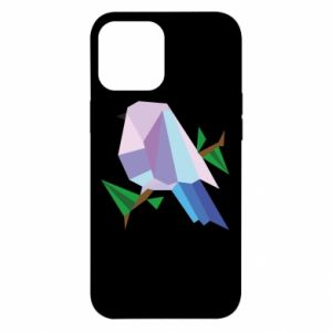 Etui na iPhone 12 Pro Max Bird on a branch abstraction