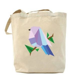 Bag Bird on a branch abstraction - PrintSalon