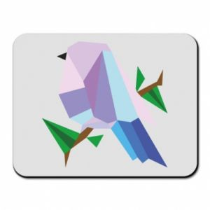 Mouse pad Bird on a branch abstraction