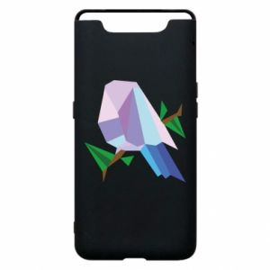 Phone case for Samsung A80 Bird on a branch abstraction