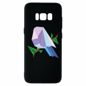 Phone case for Samsung S8 Bird on a branch abstraction - PrintSalon