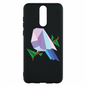 Phone case for Huawei Mate 10 Lite Bird on a branch abstraction - PrintSalon