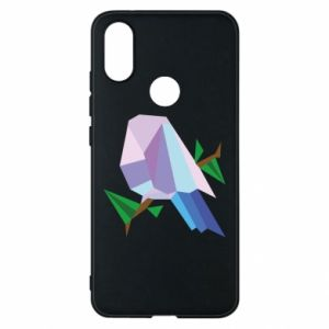 Phone case for Xiaomi Mi A2 Bird on a branch abstraction - PrintSalon