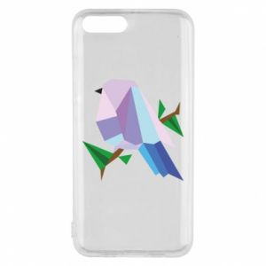 Phone case for Xiaomi Mi6 Bird on a branch abstraction - PrintSalon