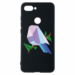 Phone case for Xiaomi Mi8 Lite Bird on a branch abstraction