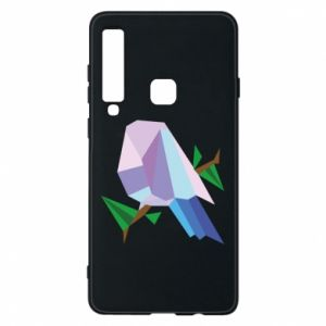 Phone case for Samsung A9 2018 Bird on a branch abstraction - PrintSalon