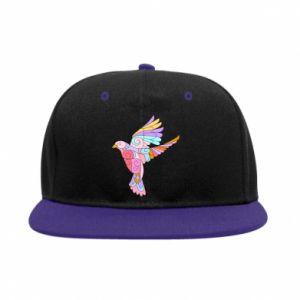 SnapBack Bird with curls - PrintSalon
