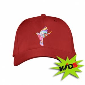Kids' cap Bird with curls - PrintSalon
