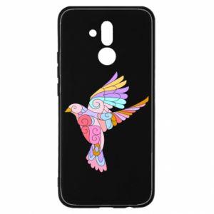 Etui na Huawei Mate 20 Lite Bird with curls