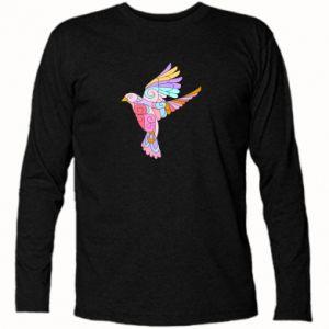 Koszulka z długim rękawem Bird with curls
