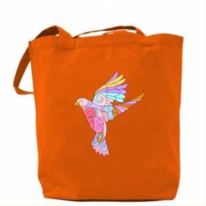 Bag Bird with curls - PrintSalon