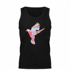 Men's t-shirt Bird with curls - PrintSalon