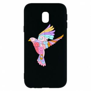 Phone case for Samsung J3 2017 Bird with curls - PrintSalon