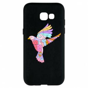 Phone case for Samsung A5 2017 Bird with curls - PrintSalon