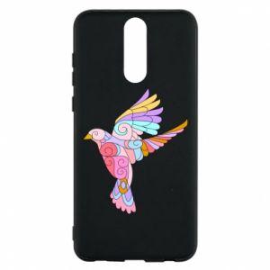 Phone case for Huawei Mate 10 Lite Bird with curls - PrintSalon