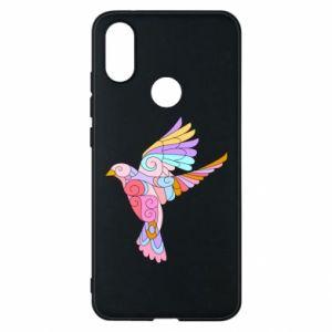 Phone case for Xiaomi Mi A2 Bird with curls - PrintSalon