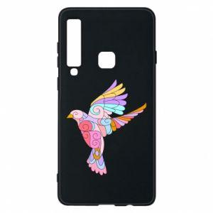 Phone case for Samsung A9 2018 Bird with curls - PrintSalon
