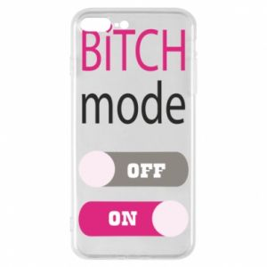 Phone case for iPhone 8 Plus Bitch mode