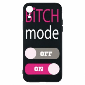 Phone case for iPhone XR Bitch mode