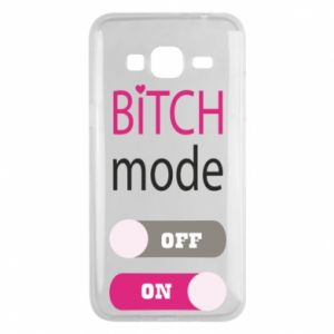 Phone case for Samsung J3 2016 Bitch mode
