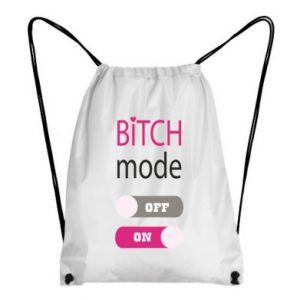 Backpack-bag Bitch mode