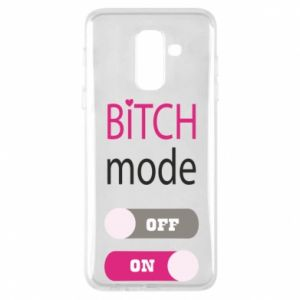 Phone case for Samsung A6+ 2018 Bitch mode