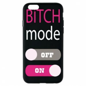 Phone case for iPhone 6/6S Bitch mode