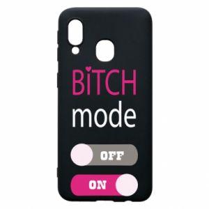 Etui na Samsung A40 Bitch mode