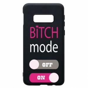 Phone case for Samsung S10e Bitch mode