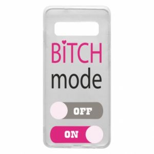 Phone case for Samsung S10 Bitch mode