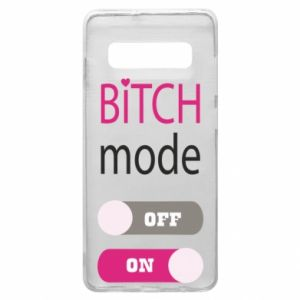 Phone case for Samsung S10+ Bitch mode