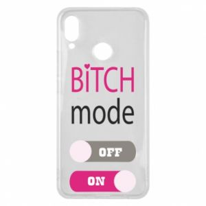 Phone case for Huawei P Smart Plus Bitch mode