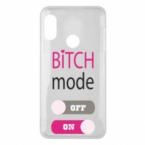 Phone case for Mi A2 Lite Bitch mode