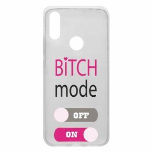 Phone case for Xiaomi Redmi 7 Bitch mode