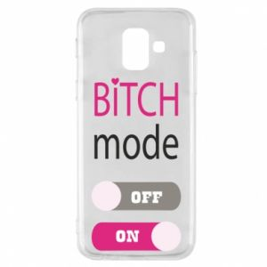 Phone case for Samsung A6 2018 Bitch mode