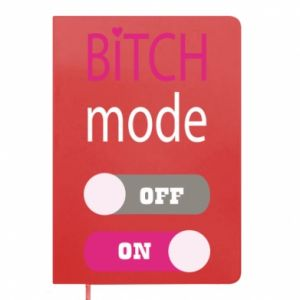 Notepad Bitch mode