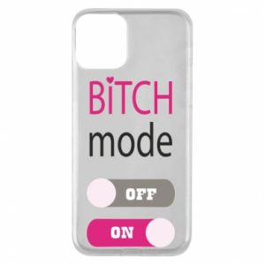 Phone case for iPhone 11 Bitch mode