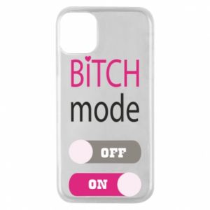 Phone case for iPhone 11 Pro Bitch mode